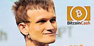 Buterin Vitalik BCH bitcoin cash ethereum, eth