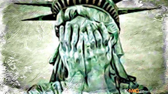 amerika usa place socha svobody