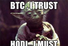yoda hodl bitcoin btc