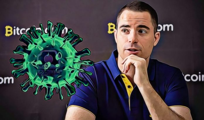 Roger Ver tweetoval o koronaviru a schytal za to pořádný hate!