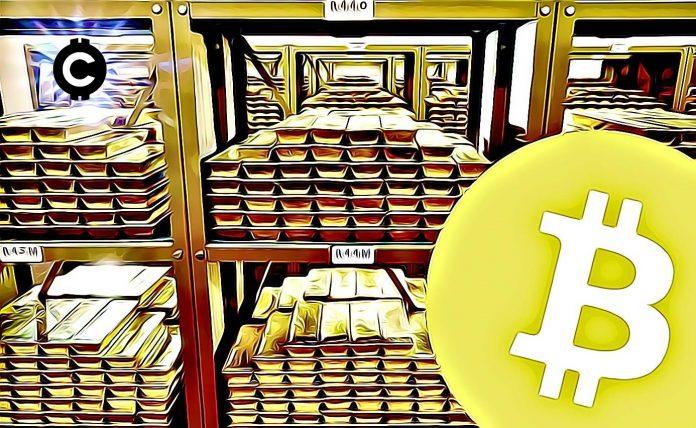 zlato tehlicka bezpecny pristav bitcoin