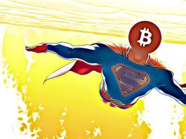 superman bitcoin let růst