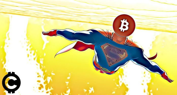 superman bitcoin let růst