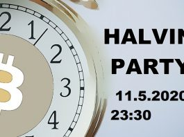 Je poslední den před halvingem - Zveme vás na halving párty!