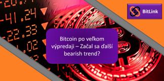 ANALÝZA - Bitcoin po velkém výprodeji - Začal další bearish trend?
